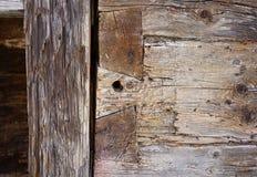 Un viejo elemento de madera del almacén Foto de archivo