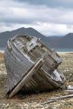 Un vieux bateau en bois Photographie stock libre de droits