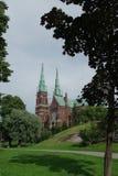 Un vieux château à Helsinki Images stock