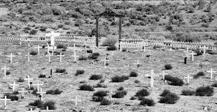Un vieux cimetière Image stock