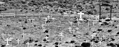 Un vieux cimetière Photographie stock