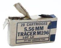Paquet d'isolement de 5,56 balles Photographie stock