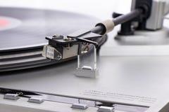 Un vieux joueur de comprimé avec un disque image stock