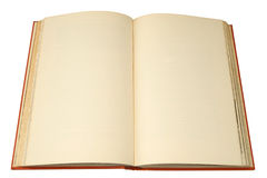 Un vieux livre de livre relié Photo libre de droits