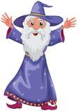 Un vieux magicien illustration libre de droits