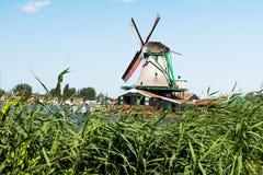 Un vieux moulin de d aux Pays-Bas Photo stock