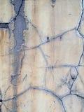 Un vieux mur criqué de stuc Photo libre de droits