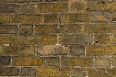 Un vieux mur de briques Image stock