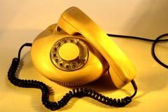 Un vieux téléphone Photo stock