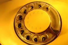 Un vieux téléphone Photographie stock