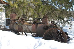 Un vieux tracktor Images stock