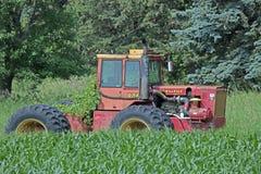 Un vieux tracteur souple Photo libre de droits
