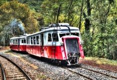 Un vieux train Images stock