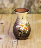 Un vieux vase vide Images stock
