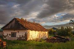 Un village à la poussière photos libres de droits