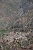 Un village Photo libre de droits
