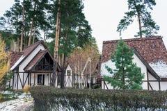 Un village allemand traditionnel Photos libres de droits