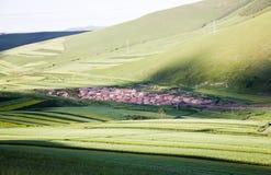Un villaggio Fotografia Stock