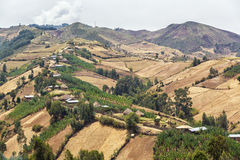 Villaggio sulle colline Immagine Stock Libera da Diritti