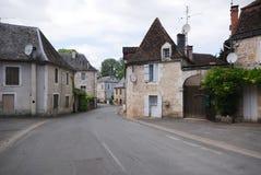 Un villaggio francese Fotografia Stock