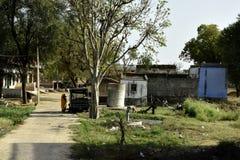 Un villaggio in India Immagine Stock Libera da Diritti