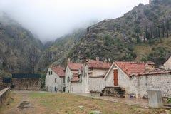 Un villaggio mediterraneo tipico Fotografia Stock