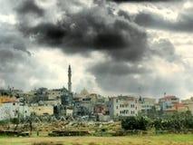 Un villaggio musulmano con muschio Fotografia Stock Libera da Diritti