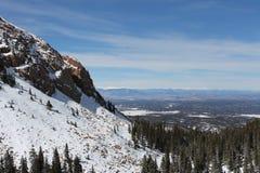 Un visage de montagne rocheuse Photographie stock libre de droits