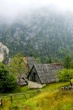 Un vlillage en Slovénie images libres de droits