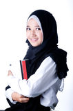 Un voile de femme de pays de l'Indonésie photos libres de droits