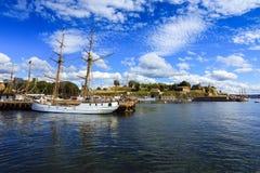 un voilier Photo libre de droits