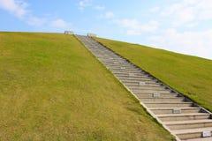 Un vol des escaliers Photos stock