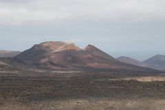 Un volcán Fotos de archivo