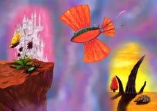 Un volo del nubifragio di Georgeous (quattro elementi, 2010) Fotografie Stock Libere da Diritti