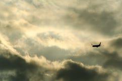 Un volo in incertezza Fotografia Stock