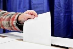 Un voto Fotografía de archivo libre de regalías