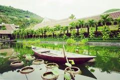Un voyage de voyage du Vietnam vers le Vietnam photographie stock libre de droits
