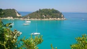 Un voyage vers l'île exotique Photos stock