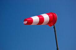 Un Windsock Immagine Stock