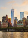 Un World Trade Center Fotografia Stock Libera da Diritti