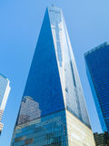 Un World Trade Center in New York Fotografia Stock Libera da Diritti