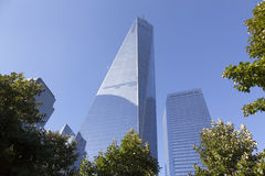 Un World Trade Center in New York Immagini Stock Libere da Diritti