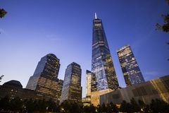 Un World Trade Center, New York City imagenes de archivo