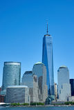 Un World Trade Center que se coloca alto Imagen de archivo