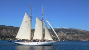 un yacht dei 2 alberi Immagine Stock Libera da Diritti