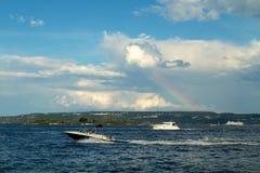 Un yacht in Mar Baltico Fotografia Stock
