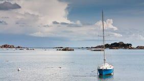 Yacht solo Fotografia Stock