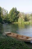 Una河在波斯尼亚 免版税库存照片