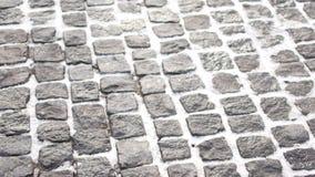 Una acera - conocida como un sendero, una acera o pavimento almacen de video