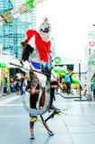 Una actitud cosplay i del animado japonés no identificado Foto de archivo libre de regalías